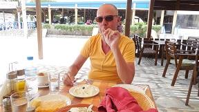 Rhodos, Prasonisi, Oasis Taverna