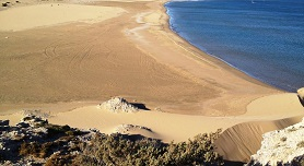 Prasonisi beach Rhodos