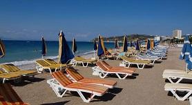 Ixia beach Rhodos