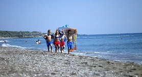 Faliraki beach Rhodos