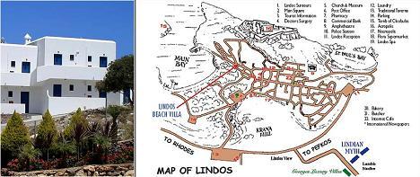 Lindian Myth Sea View Studios in Lindos, Rhodos