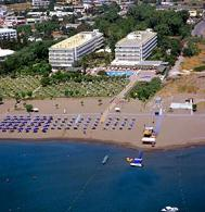 The Apollo Beach Hotel in Faliraki, Rhodos