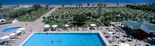 The Apollo Beach Hotel in Faliraki, Rhodos