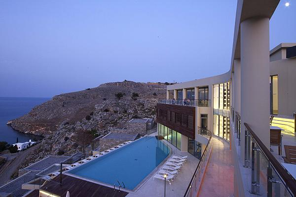 Hotels studios and apartments in lindos on rhodes in greece for Small luxury hotel chains