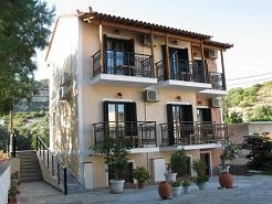 Amfilissos Hotel, Balos beach, Samos