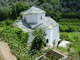 Agia Pelagia Church Kampos, Agia Pelagia Kerk in Kampos