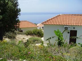 Samos, Balos Beach, hotel Panorama Villas