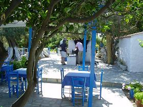 Samos, Balos Beach, Stella's Restaurant