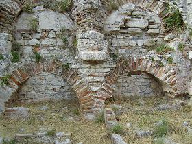 Samos Pythagorio, early Christian cemetery, Pythagorion, vroeg Christelijke begraafpaats