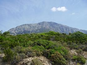 Samos, around Moni Agios Ioannis Eleimonas, rondom het klooster Agios Ioannis Eleimonas