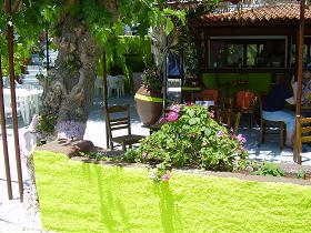 Samos, El Greco Taverne, Psili Amos Beach
