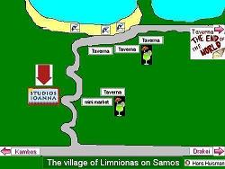 Samos, Map of Limnionas