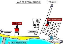 Samos, Map of Ireon