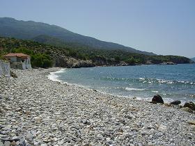 Samos, Perri Beach