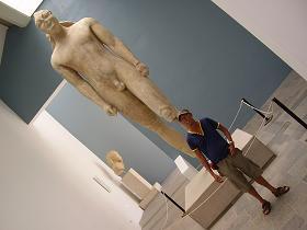 Samos, Archeological Museum in Vathi, Kouros