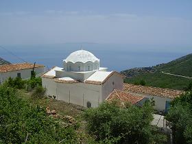 Samos, Spatharei, Moni Evangelistria