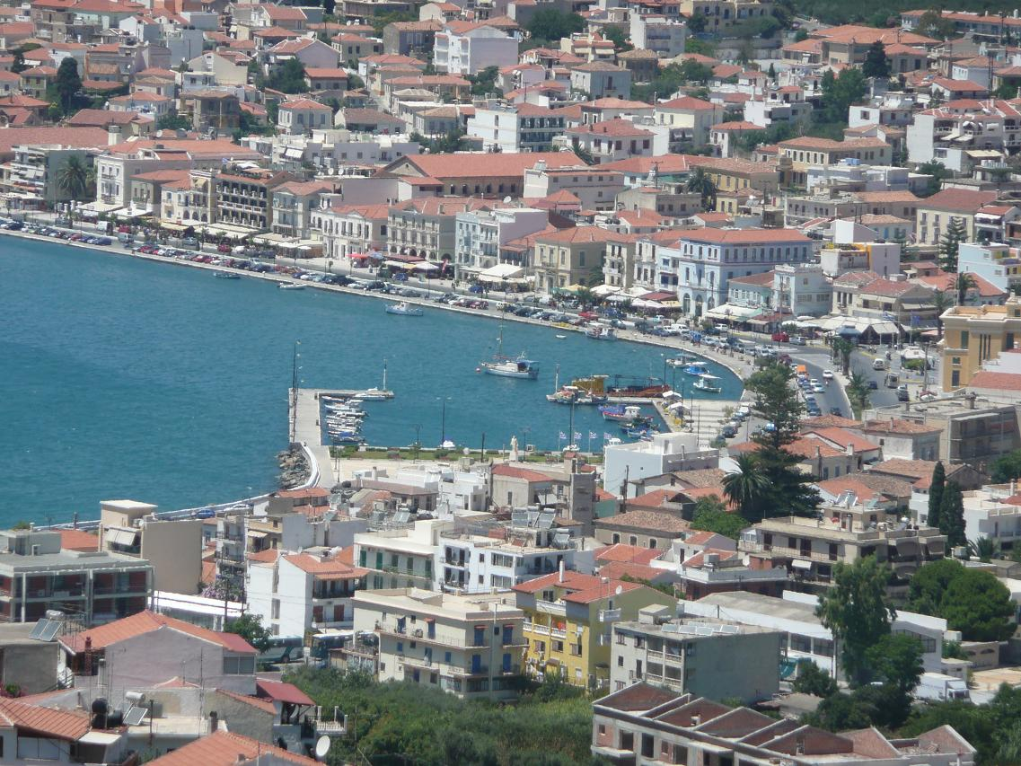 Samos town, Vathy in Samos