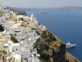 Fira in Santorini