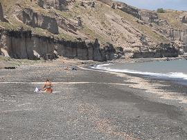 Kanakari Beach, Santorini