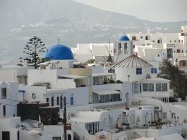 Firostefani in Santorini
