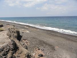 Paradise Beach, Santorini