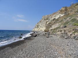 Katharos Beach, Santorini