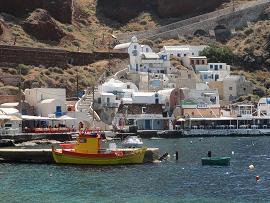 Amoudi, Santorini