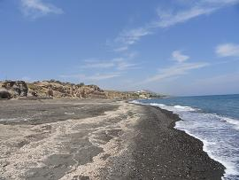 Monolithos Beach in Santorini