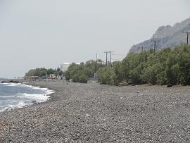 Agia Paraskevi Beach in Santorini