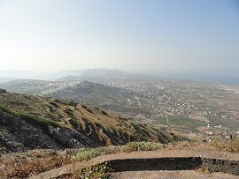 Pyrgos in Santorini