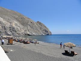Santorini, Perissa Beach