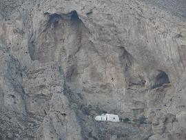 Perissa in Santorini