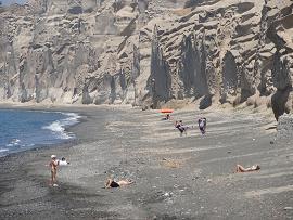 Santorini, Vlyhada Beach