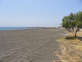 Agios Georgios Beach, Santorini