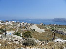 Akrotiri in Santorini