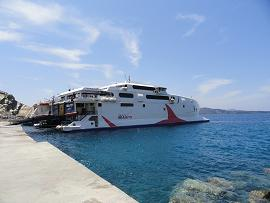 Athinios, Santorini