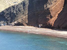 Red Beach & White Beach, Santorini