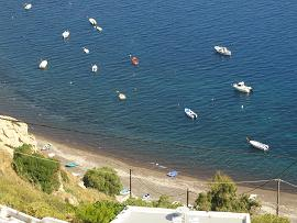 Akrotiri Bella Bay Beach, Santorini
