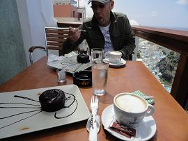 Santorini, Fira, Select Lounge Cafe
