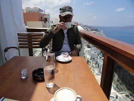 Santorini, Fira, Select Lounge Cafe