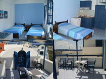 Santorini, Perissa Beach, Villa Roula