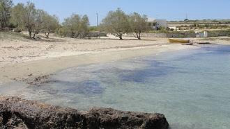 Lioliou Beach in Schinoussa
