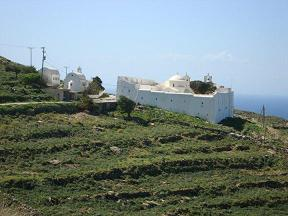 Serifos Monastery of the Taxiarches