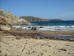 Serifos, Karavi Beach