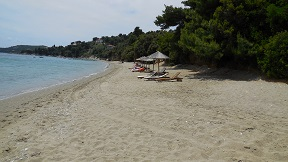 Skiathos, Small Vasilias Beach