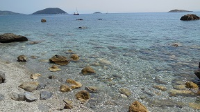 Skopelos, Kalives beach