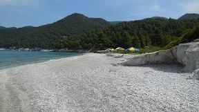 Skopelos, Milia beach