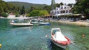 Skopelos, Agnontas beach