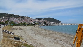Skopelos Town beach