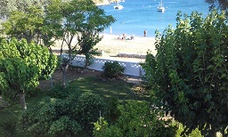 Pansion Katerina Skyros in Acherounes beach, Skyros
